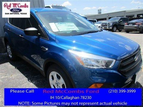 Lightning Blue 2017 Ford Escape S