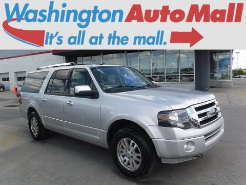 Ingot Silver Metallic 2012 Ford Expedition EL Limited 4x4
