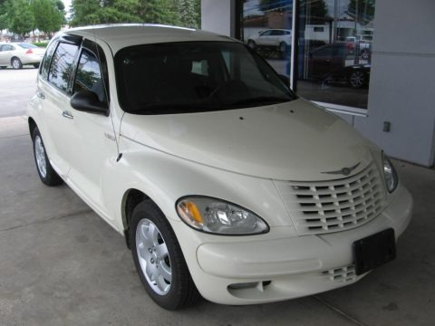 Cool Vanilla White 2005 Chrysler PT Cruiser Limited