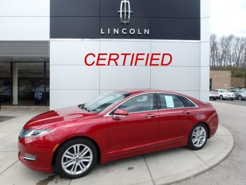 Ruby Red 2016 Lincoln MKZ 2.0 AWD
