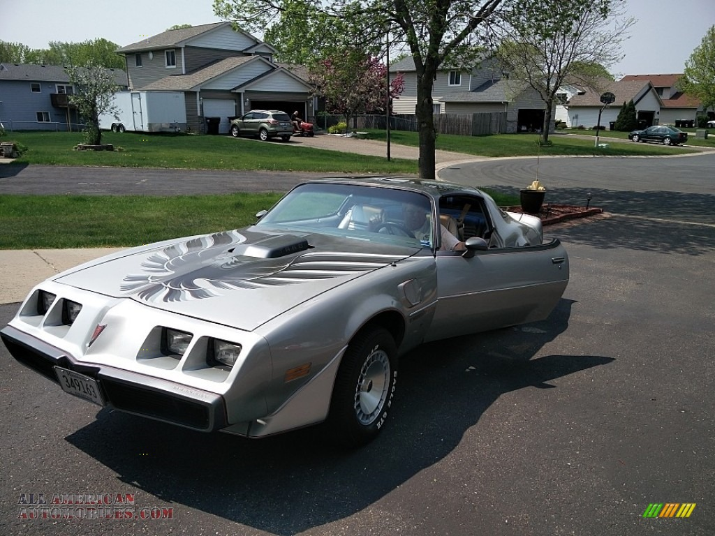 10th Anniversary Silver/Charcoal / Silver Pontiac Firebird 10th Anniversary Trans Am
