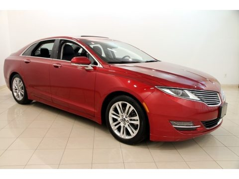 Ruby Red 2013 Lincoln MKZ 2.0L EcoBoost FWD