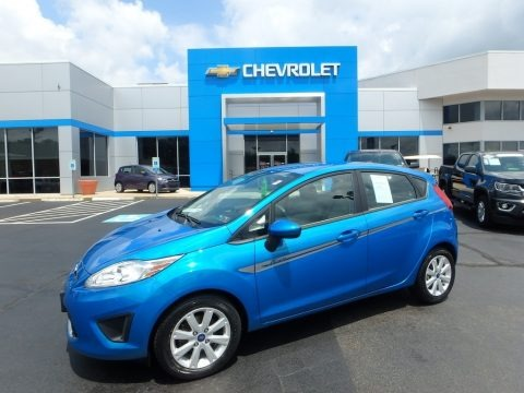 Blue Candy Metallic 2012 Ford Fiesta SE Hatchback