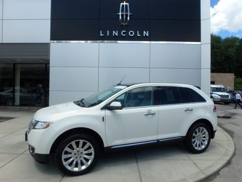 Crystal Champagne Tri-Coat 2013 Lincoln MKX AWD