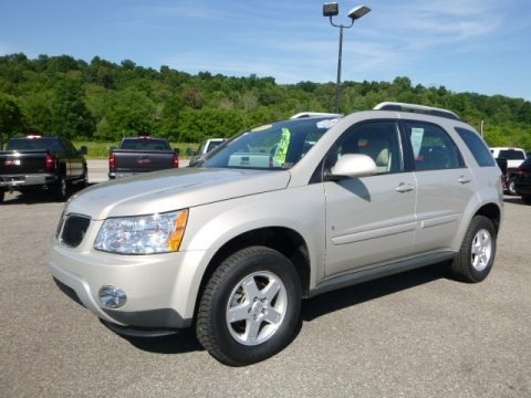 Gold Mist Metallic 2009 Pontiac Torrent