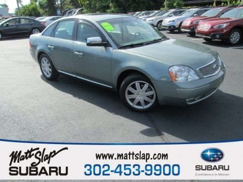 Titanium Green Metallic 2006 Ford Five Hundred Limited AWD