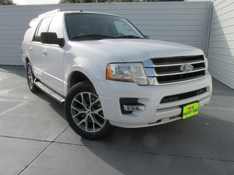 Oxford White 2017 Ford Expedition XLT
