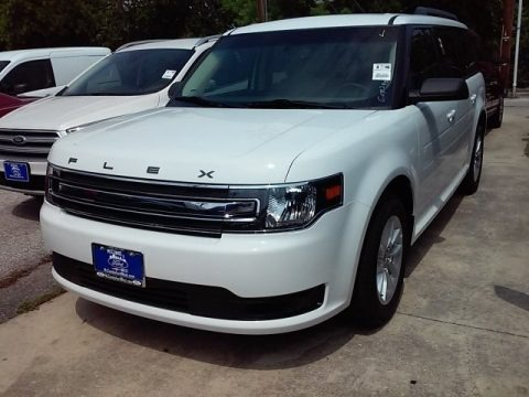 Oxford White 2016 Ford Flex SE