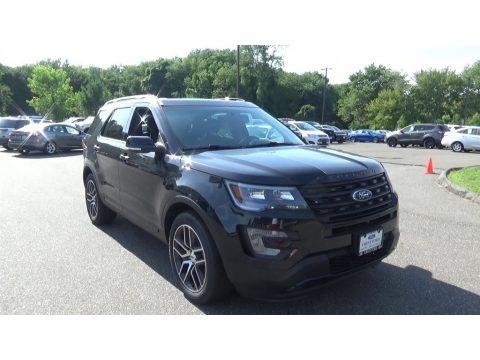 Shadow Black 2016 Ford Explorer Sport 4WD