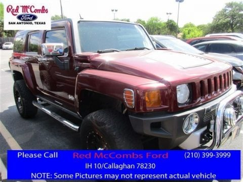 Sonoma Red Metallic 2009 Hummer H3