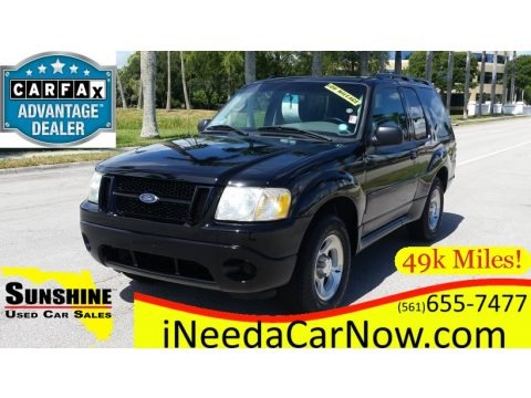 Black 2003 Ford Explorer Sport XLS