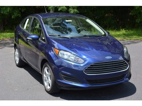 Kona Blue Metallic 2016 Ford Fiesta SE Sedan