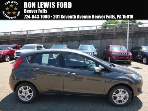 Magnetic Metallic 2016 Ford Fiesta SE Hatchback