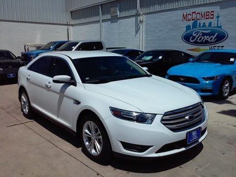 Oxford White 2016 Ford Taurus SEL