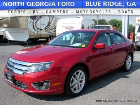 Sterling Grey Metallic 2012 Ford Fusion SEL