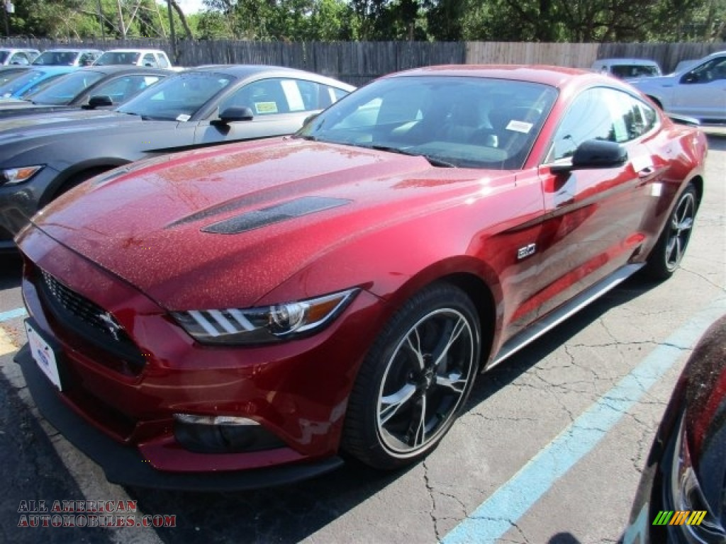 2017 ford mustang gt premium coupe in ruby red photo 2 209693 all american automobiles. Black Bedroom Furniture Sets. Home Design Ideas