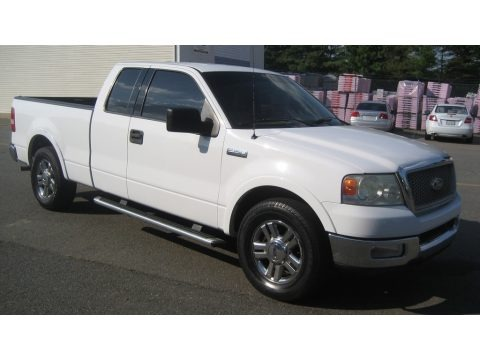 Oxford White 2004 Ford F150 Lariat SuperCab