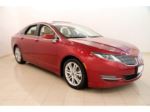 Ruby Red 2014 Lincoln MKZ Hybrid