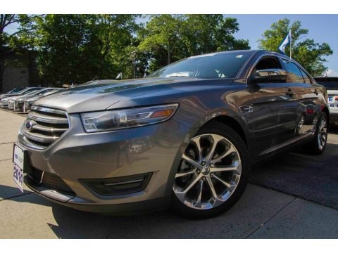 Sterling Gray 2014 Ford Taurus Limited