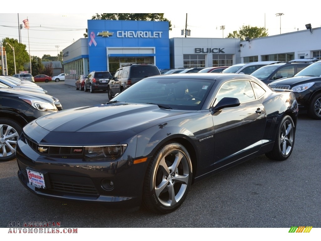 2014 chevrolet camaro lt coupe in blue ray metallic photo. Black Bedroom Furniture Sets. Home Design Ideas