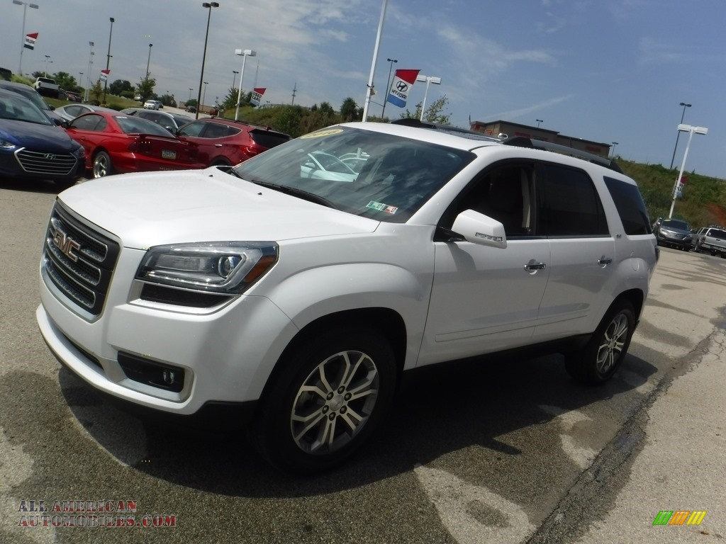 2016 gmc acadia slt awd in summit white photo 5 169991 all american automobiles buy. Black Bedroom Furniture Sets. Home Design Ideas