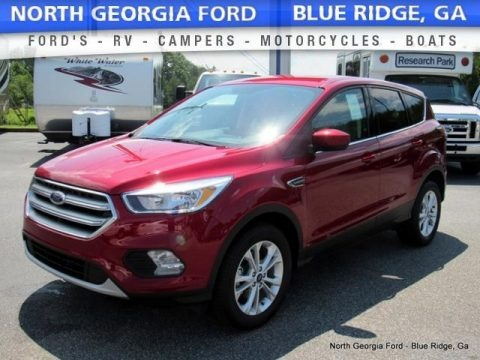Ruby Red 2017 Ford Escape SE