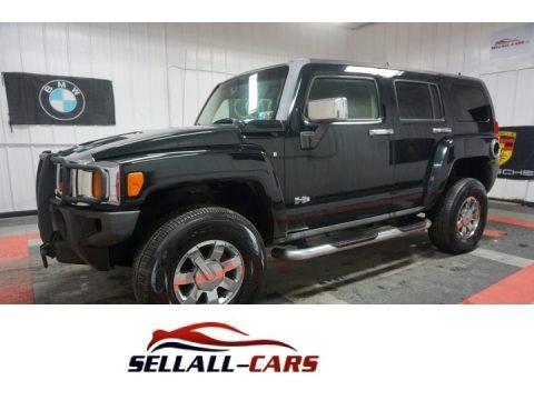 Black 2006 Hummer H3