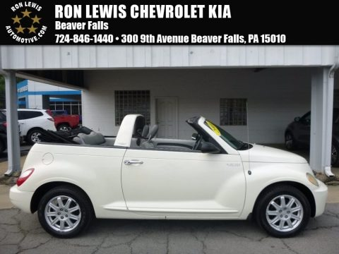 Cool Vanilla White 2006 Chrysler PT Cruiser Touring Convertible