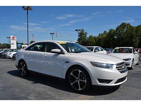 White Platinum 2014 Ford Taurus SEL