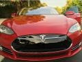 Tesla Model S P85D Performance Red Multi-Coat photo #14
