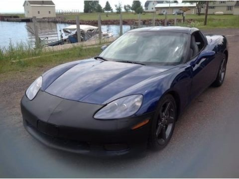 LeMans Blue Metallic 2005 Chevrolet Corvette Coupe