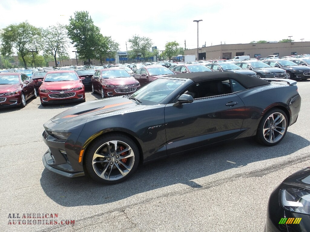 2017 Chevrolet Camaro Ss Convertible 50th Anniversary In