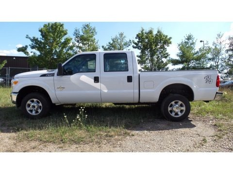 Oxford White 2016 Ford F350 Super Duty XL Crew Cab 4x4