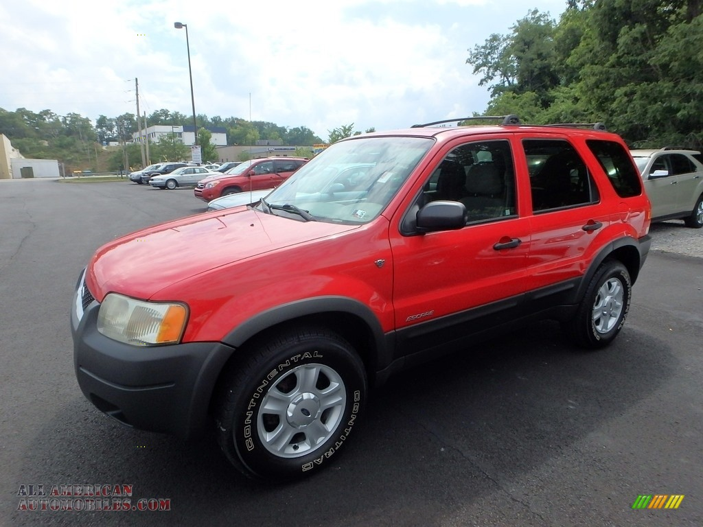 2002 ford escape xlt v6 4wd in bright red b54945 all american automobiles buy american. Black Bedroom Furniture Sets. Home Design Ideas