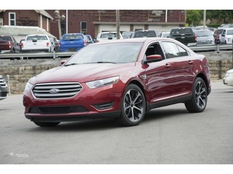 Ruby Red 2016 Ford Taurus SEL AWD