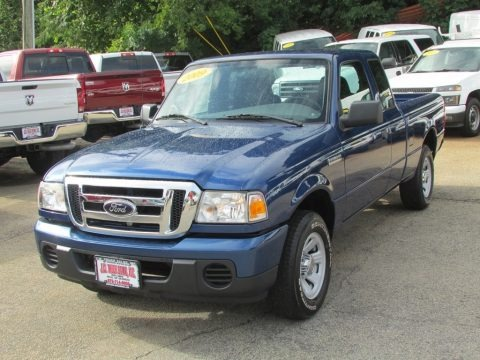 Vista Blue Metallic 2009 Ford Ranger XL SuperCab