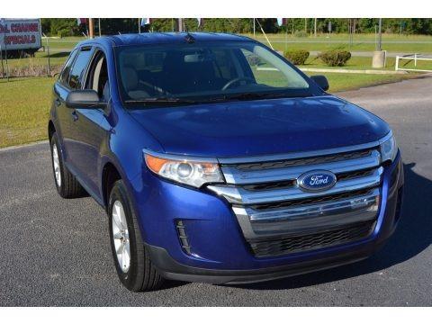 Deep Impact Blue 2014 Ford Edge SE