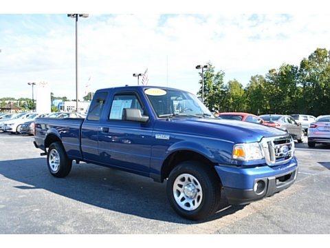 Vista Blue Metallic 2010 Ford Ranger XLT SuperCab