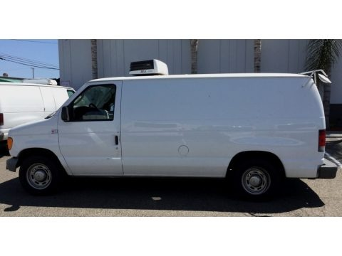 Oxford White 2006 Ford E Series Van E150 Cargo