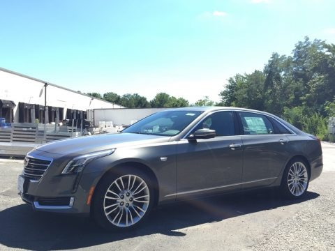 Moonstone Metallic 2017 Cadillac CT6 3.0 Turbo Premium Luxury AWD Sedan