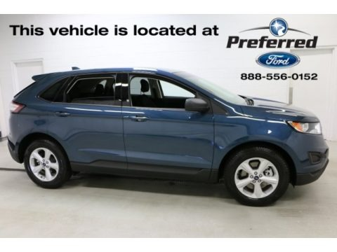 Too Good to Be Blue 2016 Ford Edge SE AWD