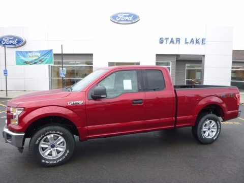 Ruby Red 2016 Ford F150 XLT SuperCab 4x4