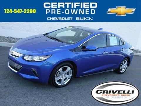 Kinetic Blue Metallic 2016 Chevrolet Volt LT