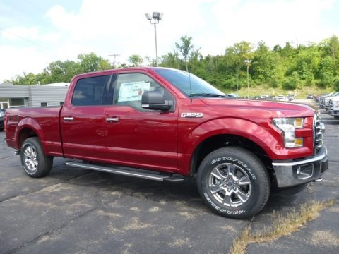 Ruby Red 2016 Ford F150 King Ranch SuperCrew 4x4