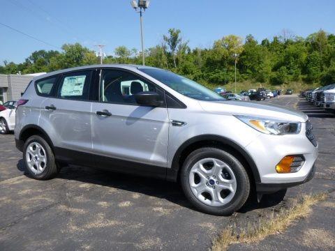 Ingot Silver 2017 Ford Escape S