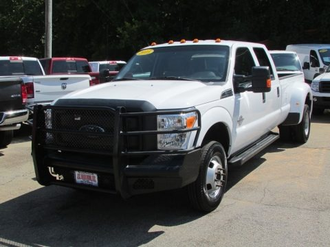 Oxford White 2015 Ford F350 Super Duty XL Crew Cab 4x4 DRW
