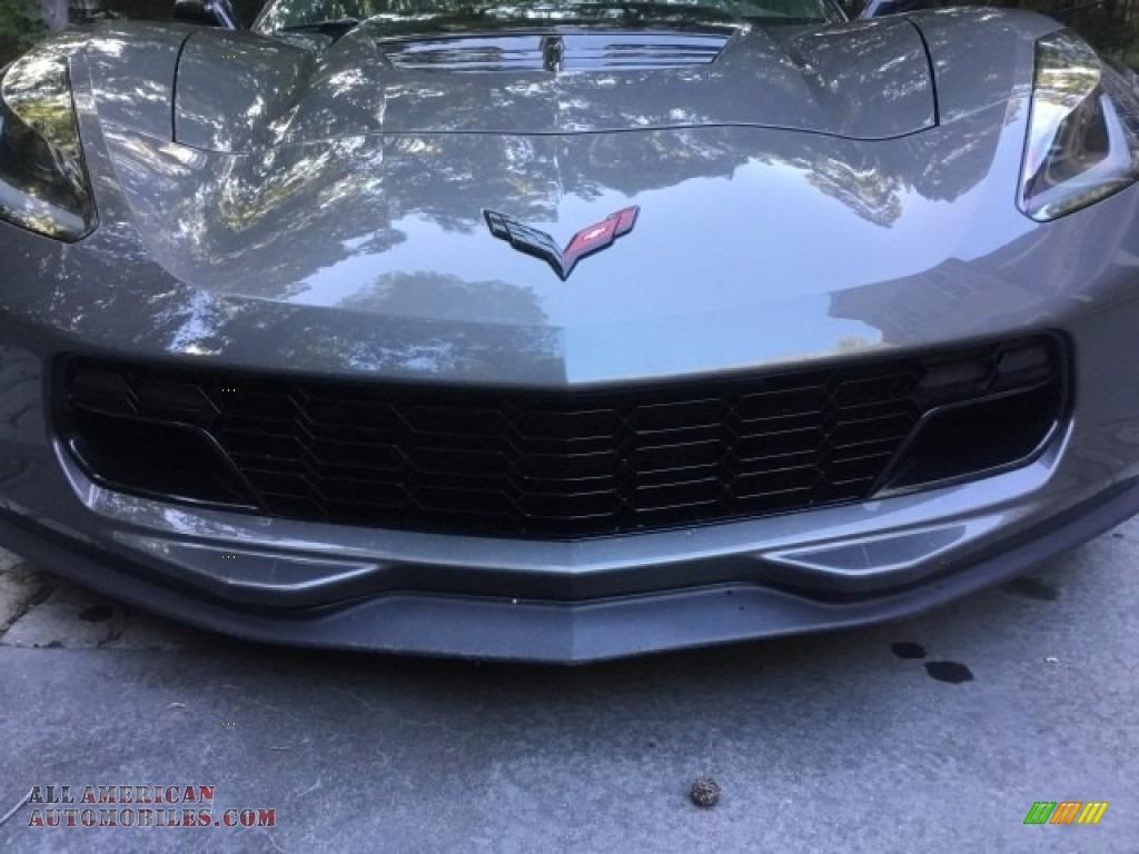 2015 Corvette Z06 Coupe - Shark Gray Metallic / Kalahari photo #4