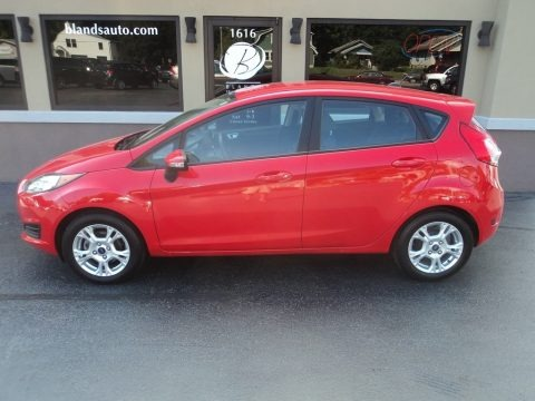 Race Red 2014 Ford Fiesta SE Hatchback