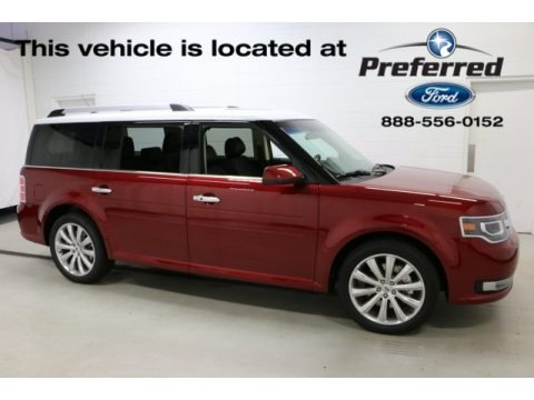 Ruby Red 2016 Ford Flex Limited AWD