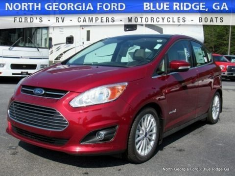 Ruby Red 2016 Ford C-Max Hybrid SEL